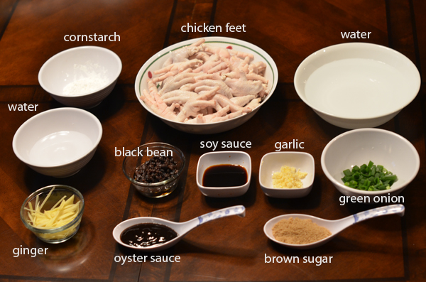 How to make chicken feet with black bean sauce | annievang.com